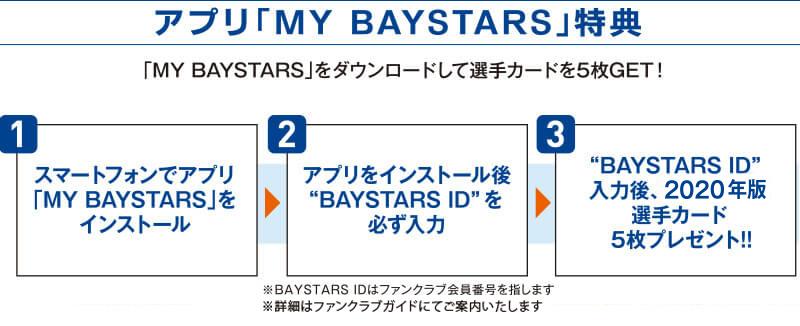 アプリ「MY BAYSTARS」特典
