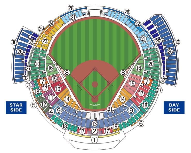 公式戦座席図 M