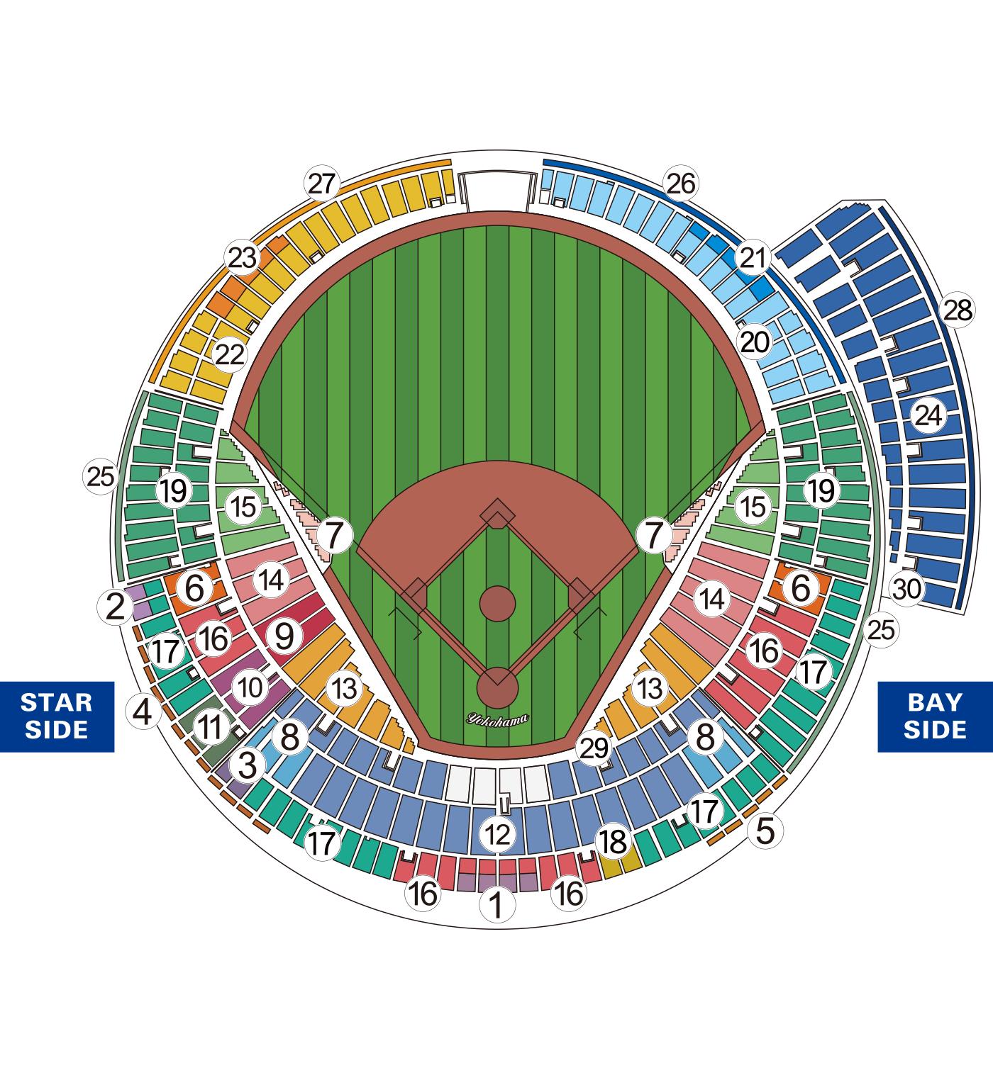 公式戦座席図 L